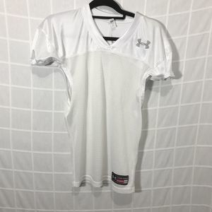 Under Armour Youth Heat Gear White Jersey